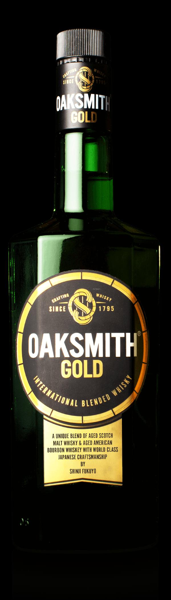 oaksmith gold blended whisky