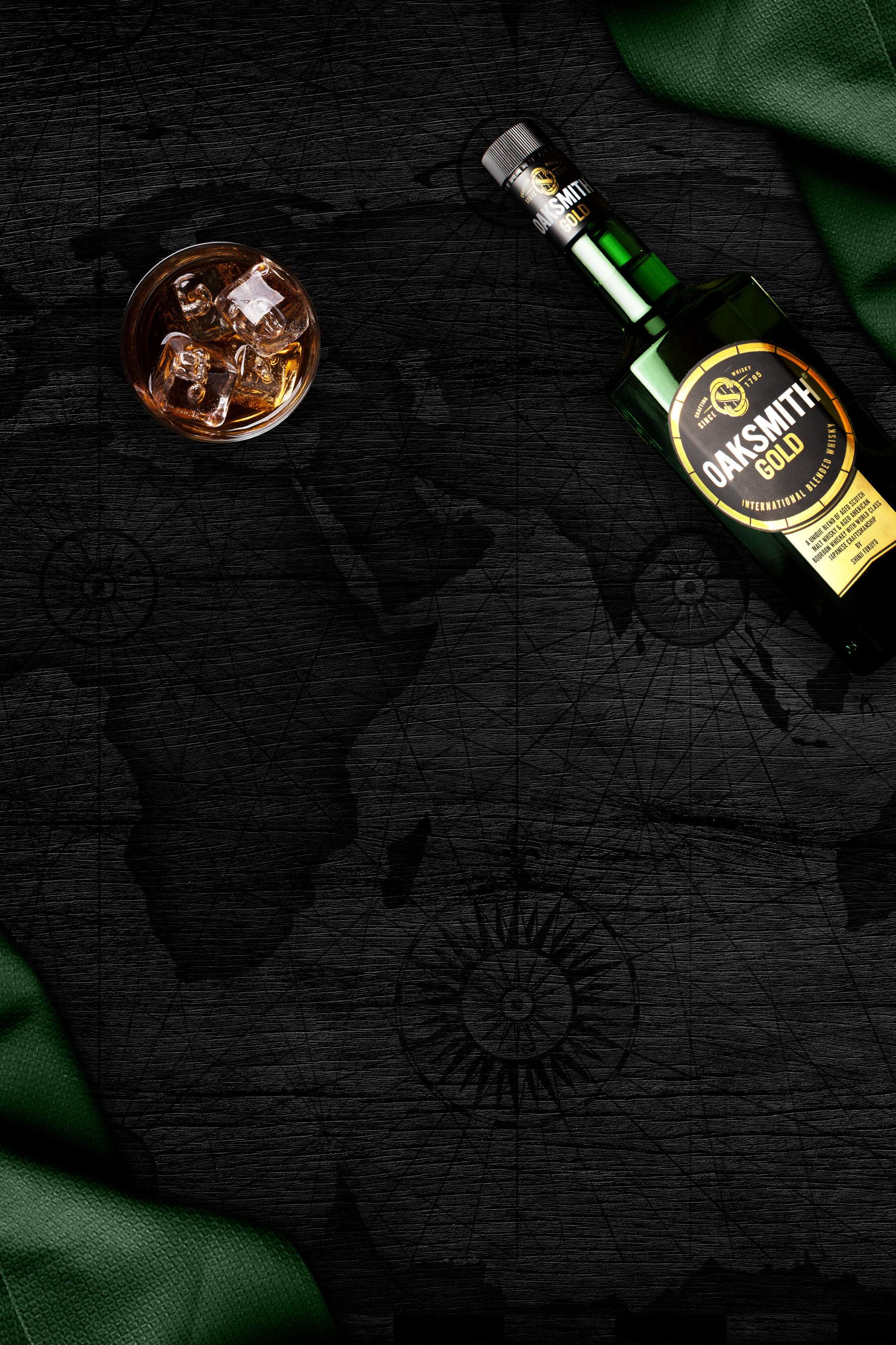 oaksmith gold international blended whisky