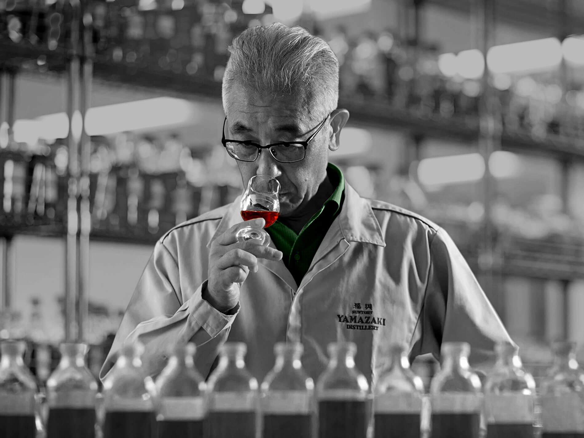 shinji fukuyo testing oaksmith international premium whisky