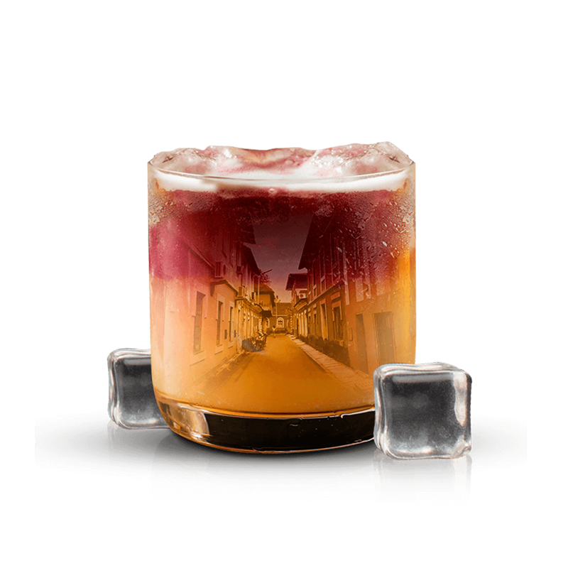 oaksmith gold goa inspired cocktail full view