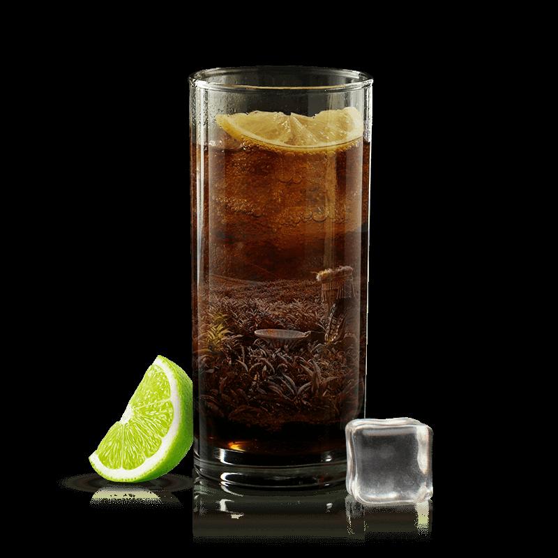 assam inspired cocktail with oaksmith international premium whiskey