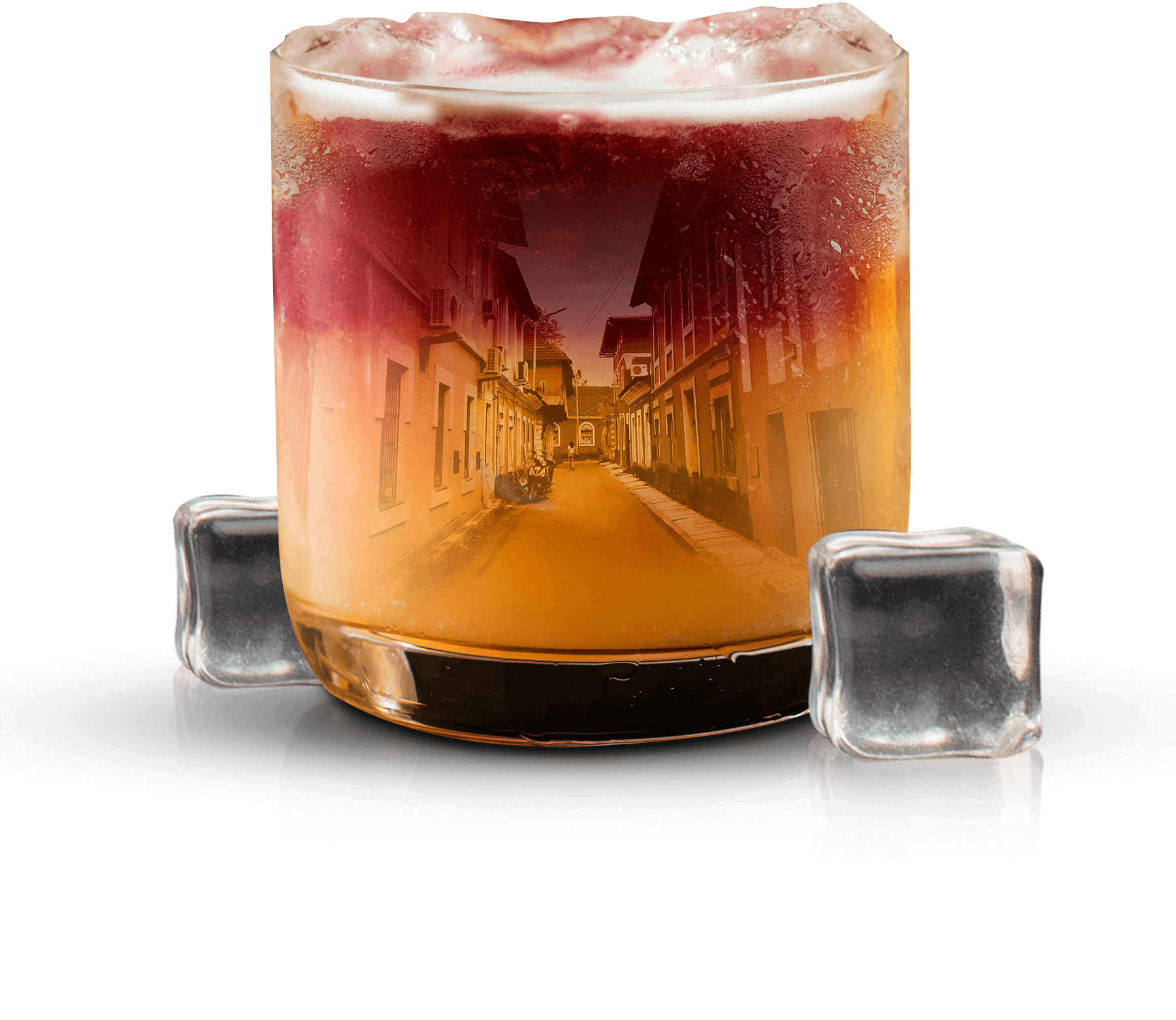 oaksmith gold goa inspired cocktail
